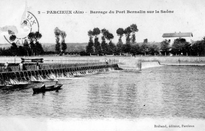 Carte postale, Le barrage à aiguilles