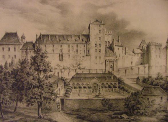 Les jardins du château au 16e siècle, l'Ancien Bourbonnais Achille Allier, Imprimeries Desrosiers, réédition Crépin-Leblond 1934.