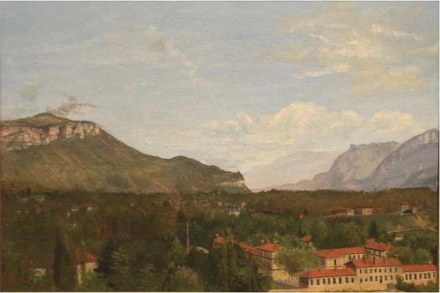 Vue de Voiron, Lucien Mainssieux