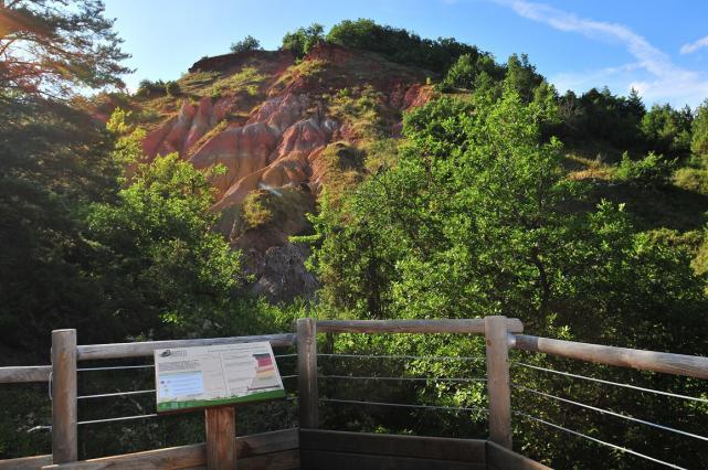 Sentier d'interprétation vallée des Saints à Boude