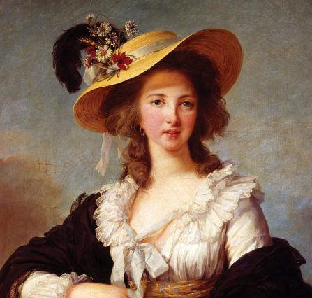 Yolande de Polastron, duchesse de Polignac (1749-1793) par Elisabeth Vigée Lebrun, 1787
