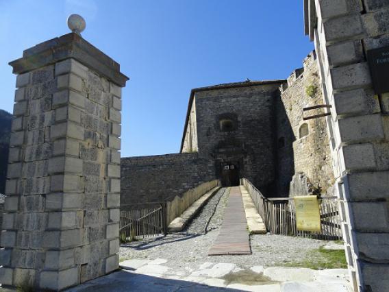 Aussois, Barrière de l'Esseillon, entrée Fort Victor-Emmanuel
