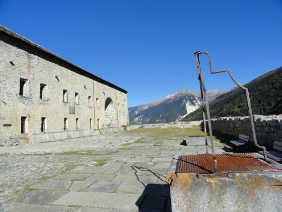 Aussois, Barrière de l'Esseillon, Fort Victor-Emmanuel