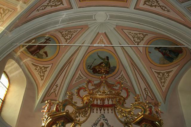 Saint-Nicolas-la-Chapelle, peinture abside