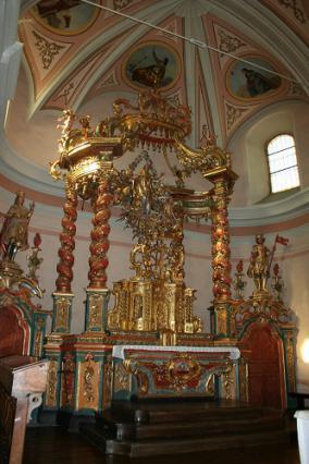 Saint-Nicolas-la-Chapelle, baldaquin