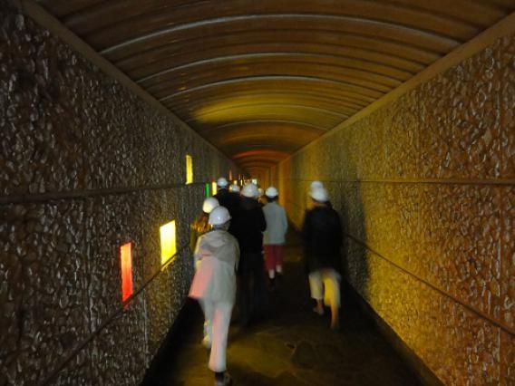 La Bâthie, couloir d'accès à la centrale