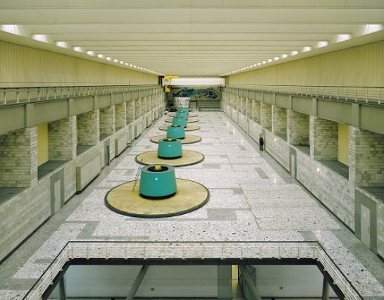 La Bâthie, grande salle des machines