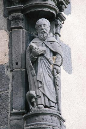 Statue de saint Antoine