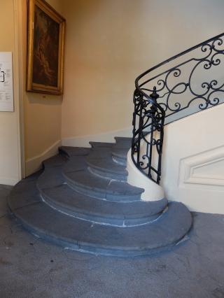 Escalier d'honneur, hôtel Dufraisse