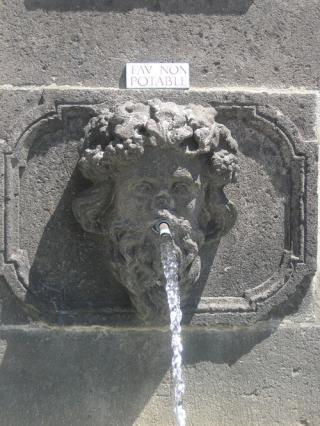 L'Automne, fontaine Ballainvilliers, Riom