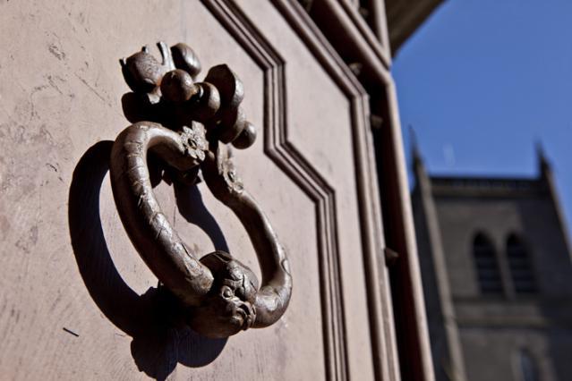 Détail d'une des 3 portes de la Cathédrale