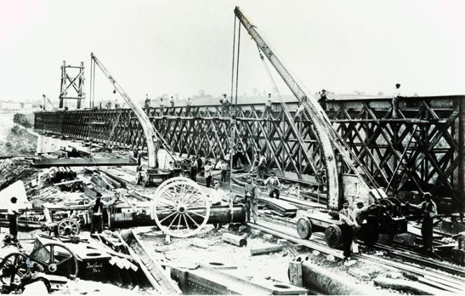 Engins de levage utilisés au 19e s.