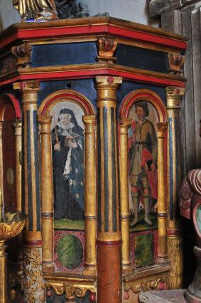 Tabernacle de l'église d'Usson  - début du 17e siècle
