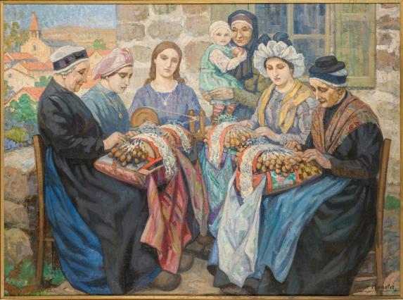Le couvige, Gabriel Moiselet, première moitié du 20e siècle
