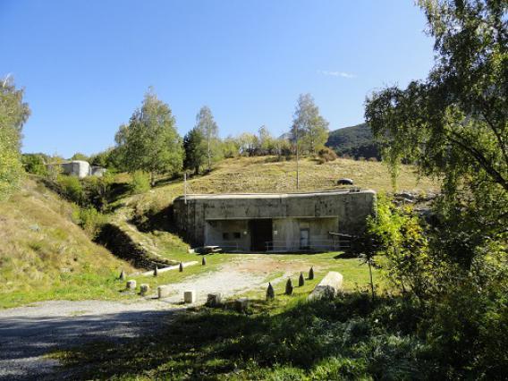 Fort Saint-Gobain, entrée