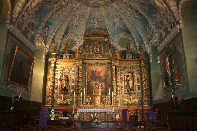 Église de Valloire, retable majeur