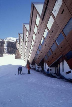 Les Arcs 1600, immeuble la Cascade
