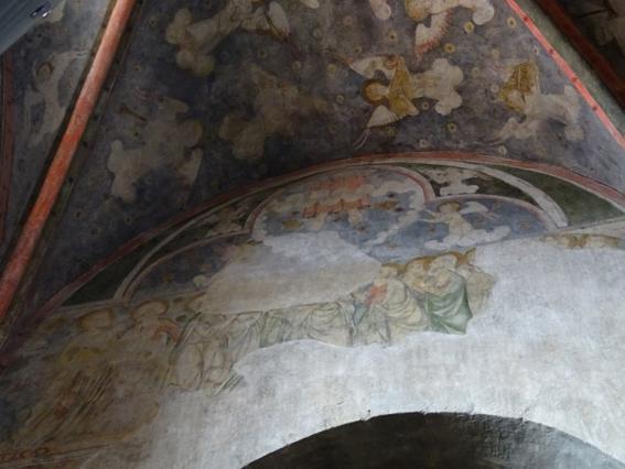 Ascension du Christ, chapelle des Aycelin, collégiale Saint-Cerneuf