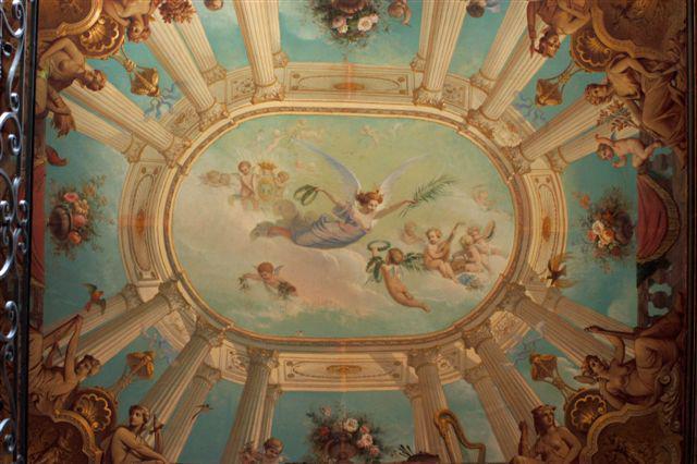 Plafond du vestibule, hôtel Dufraisse