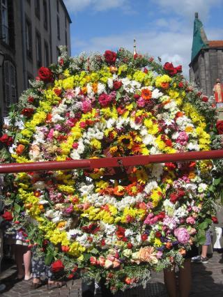 Roue de fleurs, Saint-Amable