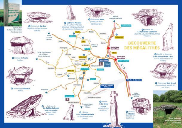 Circuit de la route des mégalithes de la Planèze