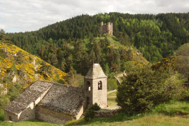 Archères du château d'Alleuze