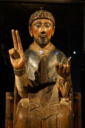 Statue reliquaire de saint Pierre