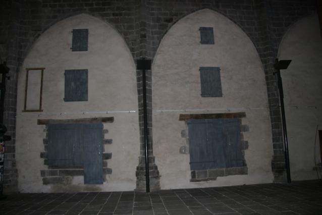 Chapelles murées et divisées