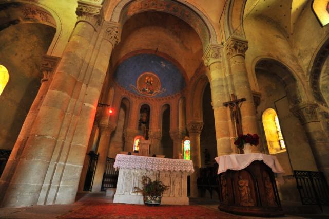 Chœur de l'église Notre-Dame de Montpeyroux