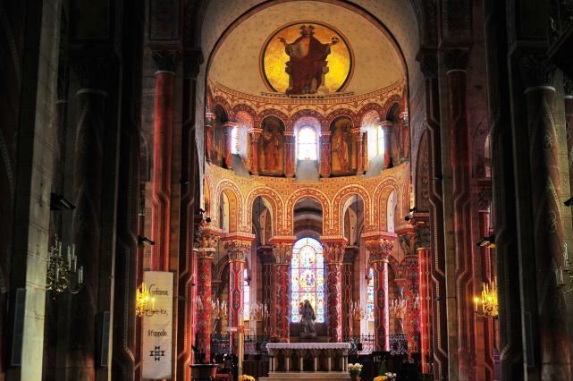 Chœur de l'abbatiale Saint-Austremoine d'Issoire
