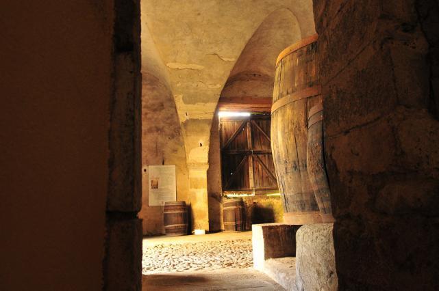 Cuvages du château d'Hauterive à Issoire