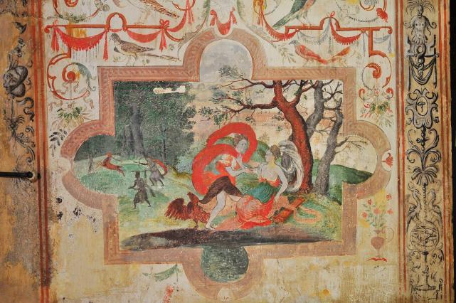 Illustration des Métamorphoses d'Ovide datant du 16e siècle
