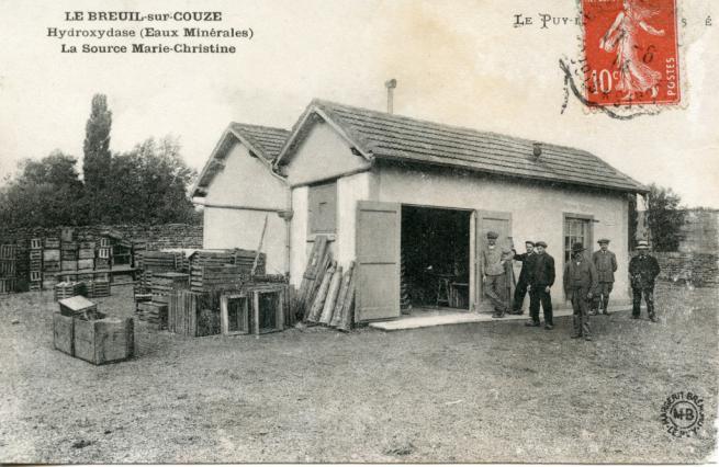 Usine Hydroxydase au Breuil-sur-Couze au début du 20e siècle