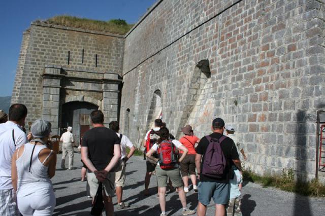 Fort du Télégraphe, entrée