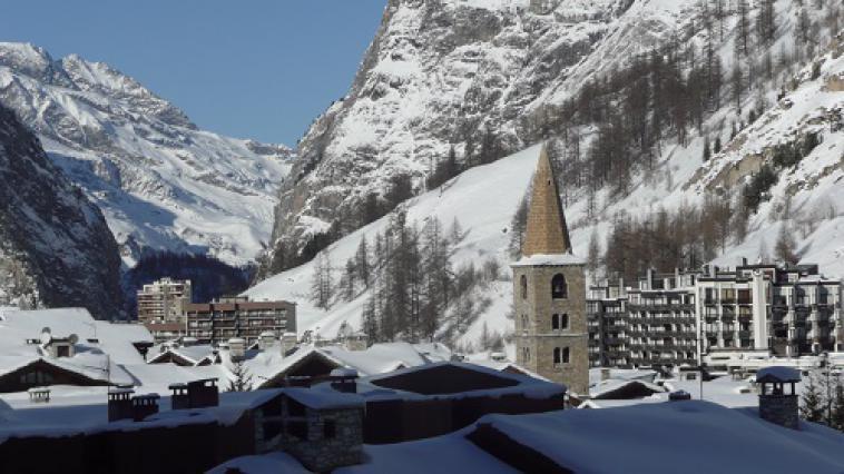 Val d'Isère, vue d'ensemble