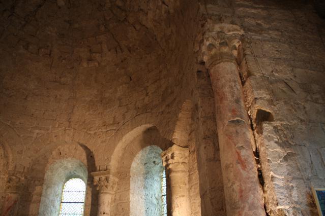 L'abside romane du prieuré de Chirens