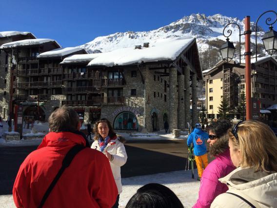 Val d'Isère, quartier Val Village