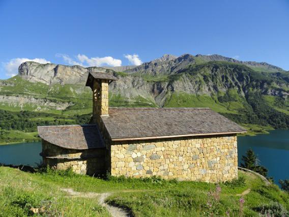 Roselend, chapelle Ste-Madeleine