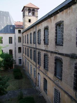 Cour intérieur de l'Ancien collège Jésuite