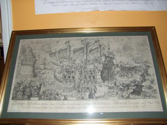 Copie d'une gravure du Typus Réligionis