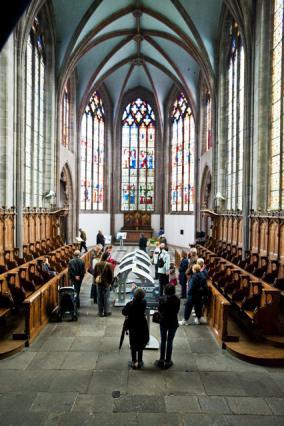 Sainte-Chapelle, vue intérieure
