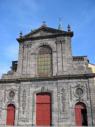 Façade ouest, Saint Amable