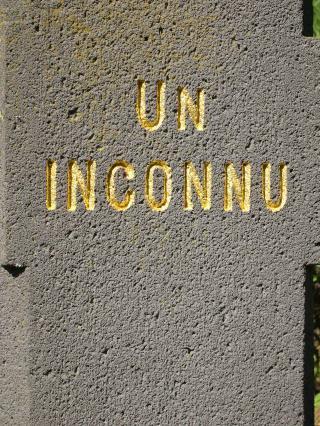 Stèle de «Un inconnu»