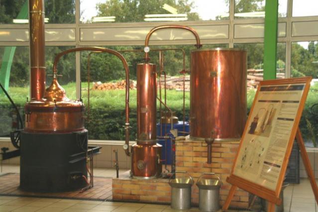 La distillerie Meunier