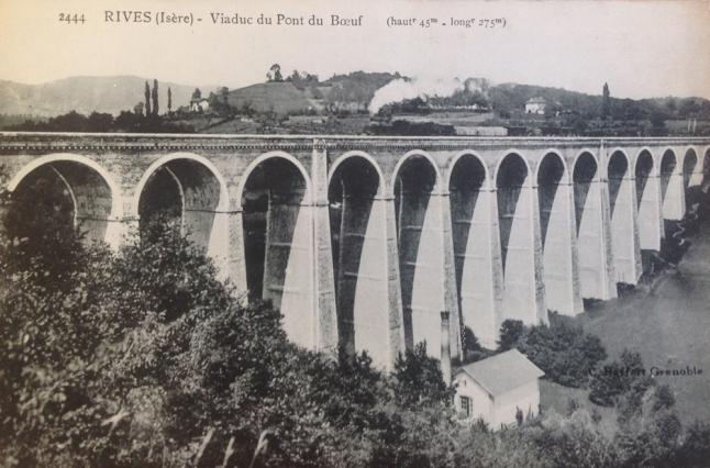 Le pont du bœuf ou viaduc de la Fure