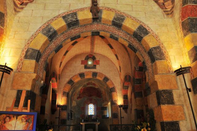 Chœur de l'église de Saint-Hérent