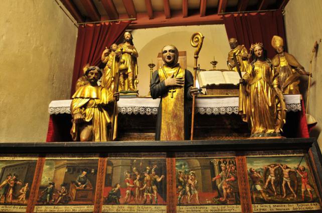 Trésor de l'église Notre Dame de l'Assomption à Sauxillanges