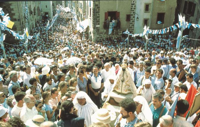 Procession de l'Assomption, cathédrale du Puy-en-Velay