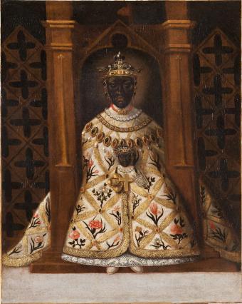 La Vierge noire du Puy, anonyme, 17e siècle
