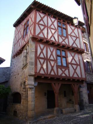 Maison dite «du boucher», quartier médiéval de Billom